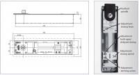 marca geze mod ts 550 mola pavimento com reten o geze molas porta molas para portas. Black Bedroom Furniture Sets. Home Design Ideas
